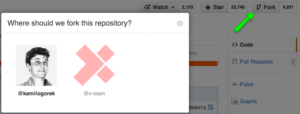 Fork Repository